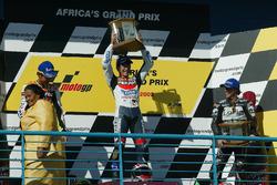 Podyum: 1. Tohru Ukawa, 2. Valentino Rossi, 3. Loris Capirossi
