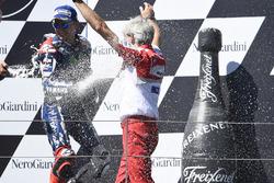 Джіджі Далл'Інья, керівник Ducati Corse, Хорхе Лоренсо, Yamaha Factory Racing