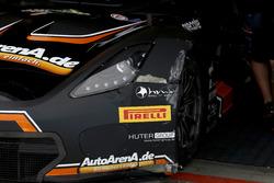 #69 Callaway Competition, Corvette C7 GT3: Patrick Assenheimer, Dominik Schwager nach dem Unfall