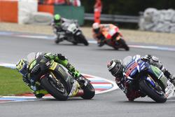 Pol Espargaro, Tech 3, Yamaha; Jorge Lorenzo, Yamaha Factory Racing