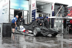 Car of Pippa Mann, Dale Coyne Racing Honda