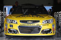 L'auto di Alex Bowman, Hendrick Motorsports Chevrolet, durante le verifiche