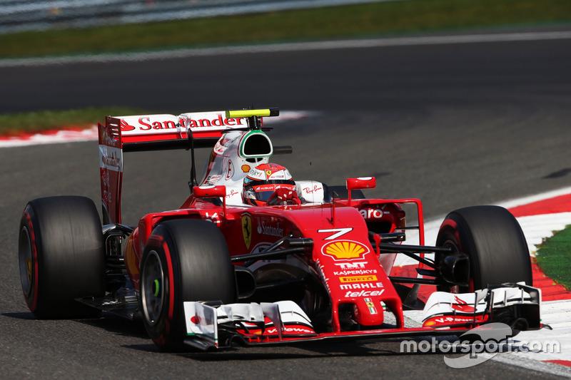3º Kimi Raikkonen, Ferrari SF16-H