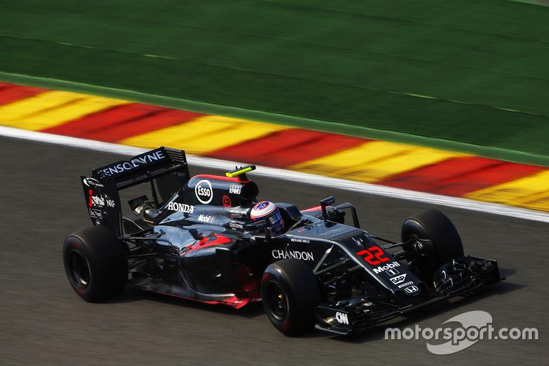 Ausfall: Jenson Button, McLaren MP4-31