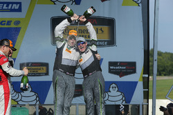 GTD Podium: third place John Potter, Andy Lally, Magnus Racing
