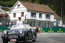 Дженсон Баттон, McLaren во время парада пилотов