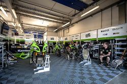 #11, Team SRC Kawasaki, Gregory LeBlanc, Mathieu Lagrive, Fabien Foret