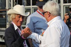 Arturo Merzario, ve Herbie Blash, FIA Delegesi
