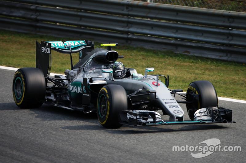 Nico Rosberg, Mercedes F1 W07 Hybrid (2016)