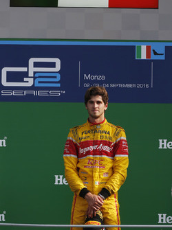 Podium: Sieger Antonio Giovinazzi, PREMA Racing