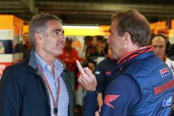 Mike Doohan ve Livio Suppo, Repsol Honda Team Takım Patronu