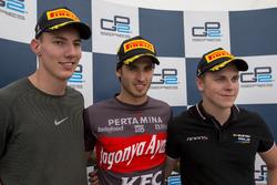 Sieger Antonio Giovinazzi, PREMA Racing; 2. Raffaele Marciello, RUSSIAN TIME; 3. Gustav Malja, Rapax