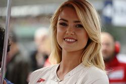 Чарівна дівчина  Ducati Corse