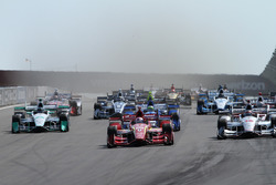Start: Scott Dixon, Chip Ganassi Racing, Chevrolet, führt