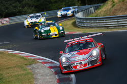 Adam Osieka, Kiki Sak Nana, Dennis Trebing, Fabian Schiller, Porsche 911 GT3 Cup
