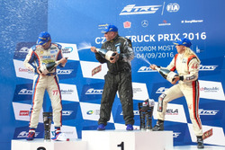 Podium: Sieger Ryan Smith; 2. Rene Reinert, MAN; 3. Steffi Halm, MAN