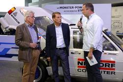 Rainer Braun, Jochi Kleint, Patrick Simon ''50 yıllık heyecan - Volkwagen Motorsport'' açılış töreninde