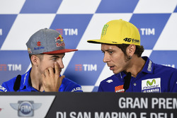 Maverick Maverick Viñales, Team Suzuki Ecstar MotoGP, Valentino Rossi, Yamaha Factory Racing