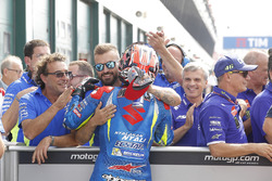 Maverick Viñales, Team Suzuki Ecstar MotoGP tercer clasificado