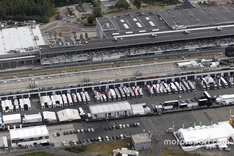 Die DTM bezieht Quartier am Nürburgring