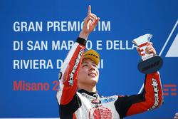 Il terzo classificato Takaaki Nakagami, Honda Team Asia