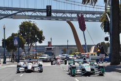 Simon Pagenaud, Team Penske Chevrolet, Will Power, Team Penske Chevrolet Embarcadero'da