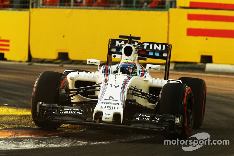 11º: Felipe Massa, Williams FW38