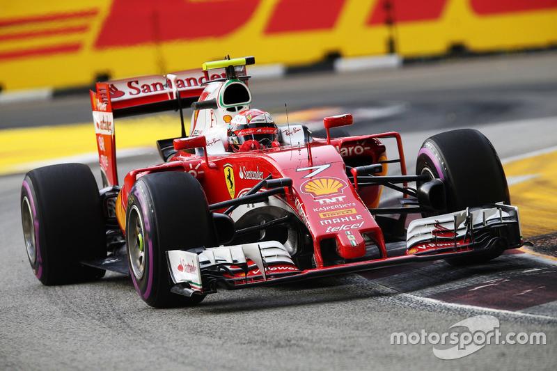 5º: Kimi Raikkonen, Ferrari SF16-H