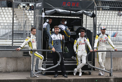 #99 Rowe Racing BMW M6 GT3: Philipp Eng, Alexander Sims, With Martin Tomczyk and Jaroslav Janick, Team Manager