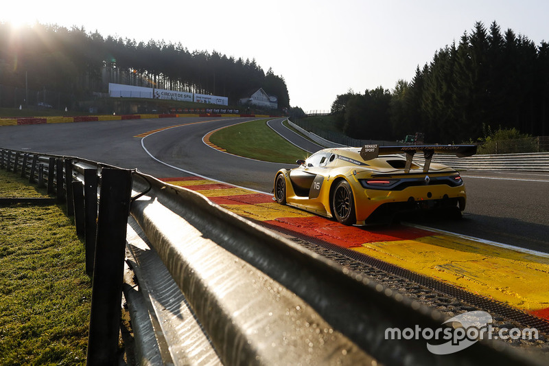 Team Duqueine Renault RS01 #16: Robert Kubica, Christophe Hamon