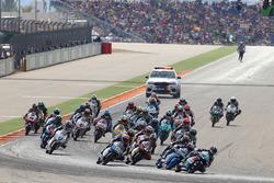 Start: Enea Bastianini, Gresini Racing Team Moto3 leads