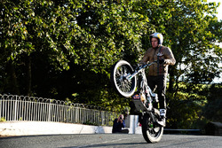 Wheelie around Isle of Man