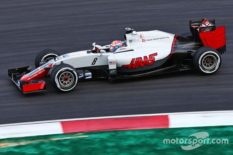 12. Romain Grosjean, Haas F1 Team VF-16