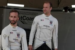 Mikhail Grachev, Honda Civic TCR , WestCoast Racing; Kevin Gleason, Honda Civic TCR, West Coast Racing