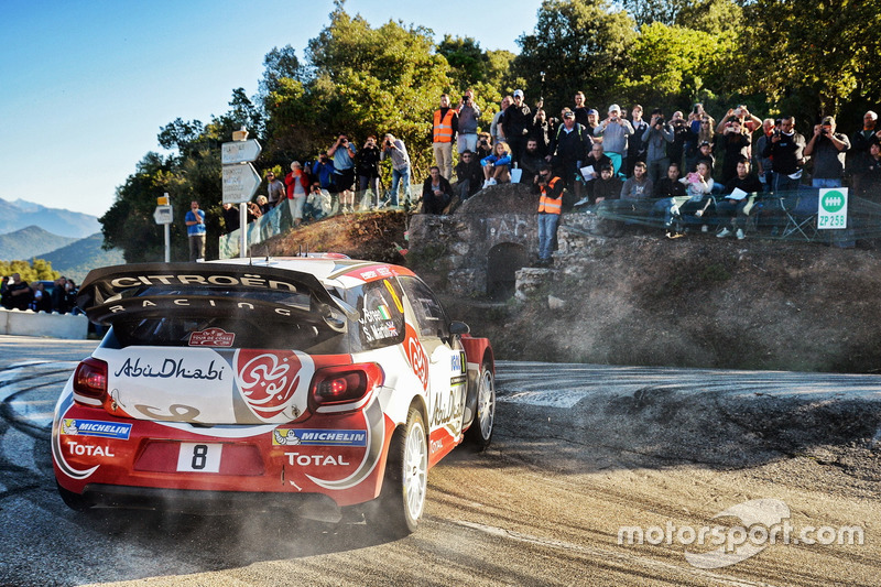 Крейг Брін, Скотт Мартін, Citroën DS3 WRC, Abu Dhabi Total World Rally Team