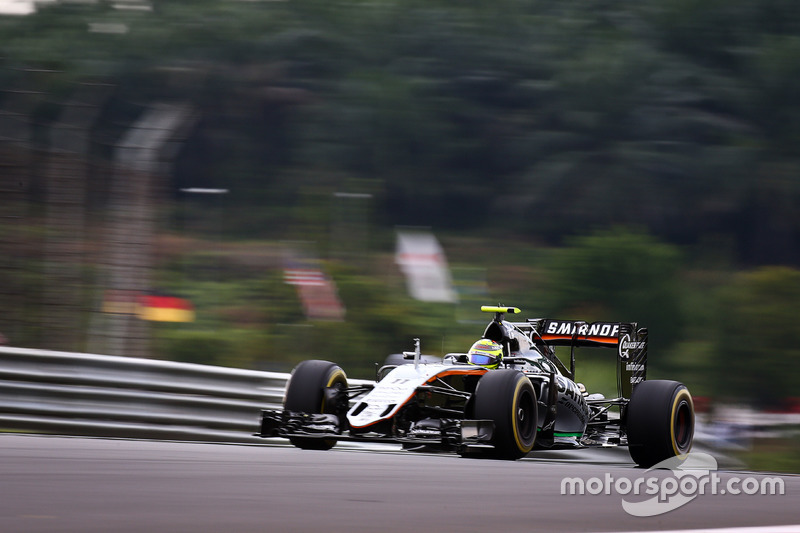 6. Sergio Perez, Sahara Force India F1 VJM09