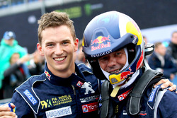 Sieger Sébastien Loeb, Team Peugeot Hansen; 3. Timmy Hansen, Team Peugeot Hansen