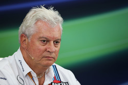 Pressekonferenz: Pat Symonds, Williams