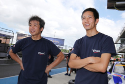#25 Team Tsuchiya Toyota MC86: Takeshi Tsuchiya, Takamitsu Matsui