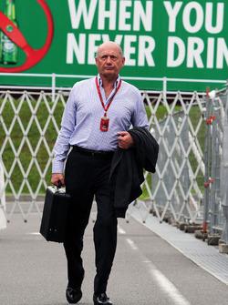 Рон Деннис, исполнительный председатель McLaren