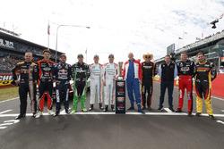 Groepsfoto rijders