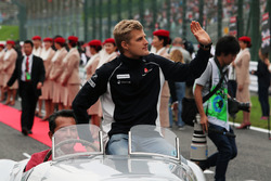 Marcus Ericsson, Sauber F1 Team on the drivers parade