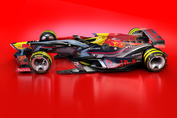 Designstudie für 2030: Red Bull Racing