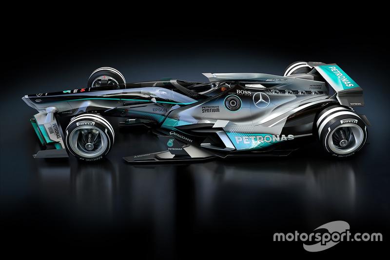 تصميمي مستقبلي لسيارة مرسيدس في 2030