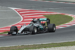 Нико Росберг, Mercedes F1 Team, на тестах шин Pirelli 2017 года