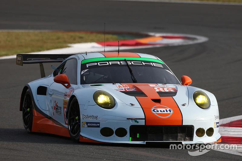 4. LMGTE Am: #86 Porsche 911 RSR: Michael Wainwright, Adam Carroll, Ben Barker