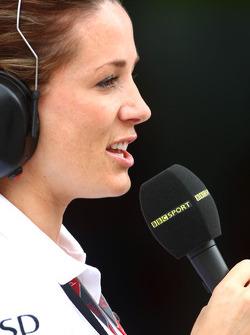 BBC TV girl