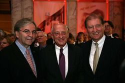 Lord Mayor of Wiesbaden Helmut Muller, Dr. Thomas Betzler, ITR Chairman and Dr. Hans-Henning Wiegmann from Henkell