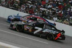 Casey Mears, Germain Racing Toyota and Robby Gordon, Robby Gordon Motorsport Dodge