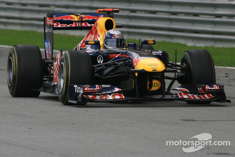 2010. Малайзія. Себастьян Феттель, Red Bull RB6